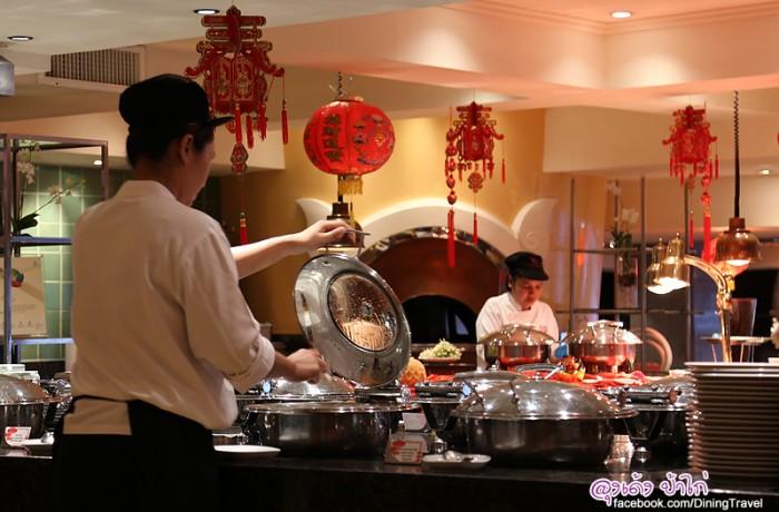 Feast บุฟเฟ่ต์อาหารจีนทุกมื้อค่ำวันพุธ รับสิทธิ์ส่วนลด 15%