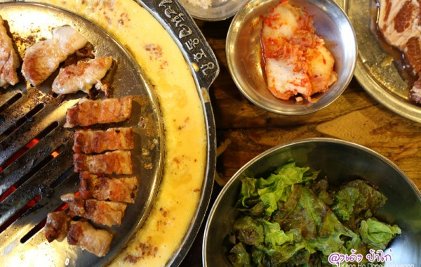 "Baek Jeong เนื้อย่างร้านดัง ของ พิธีกรดัง ""คังโฮดง"" ย่านเมียงดง"