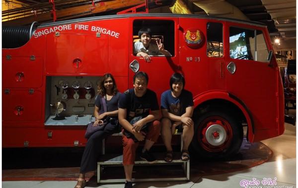 พิพิธภัณฑ์สถานีดับเพลิง (Civil Defence Heritage Gallery) ชมฟรี