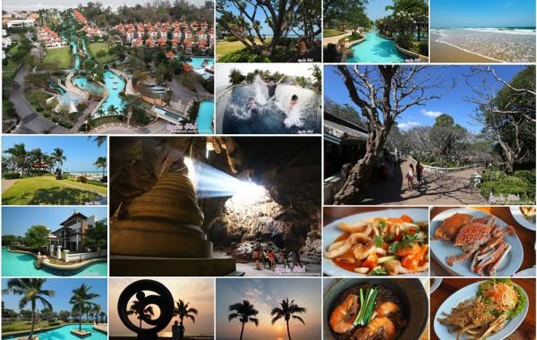 ทริปสนุกๆ เพชรบุรี ชะอำ หัวหิน เที่ยวถ้ำ กินอาหารทะเล เดินงานวัด พัก Boathouse Hua Hin