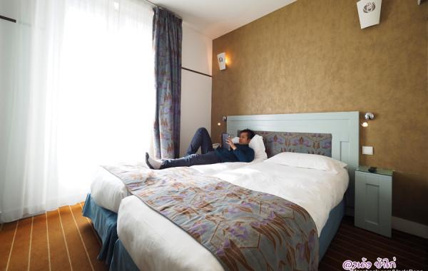 Hotel Eiffel Seine ปารีส ใกล้หอไอเฟล