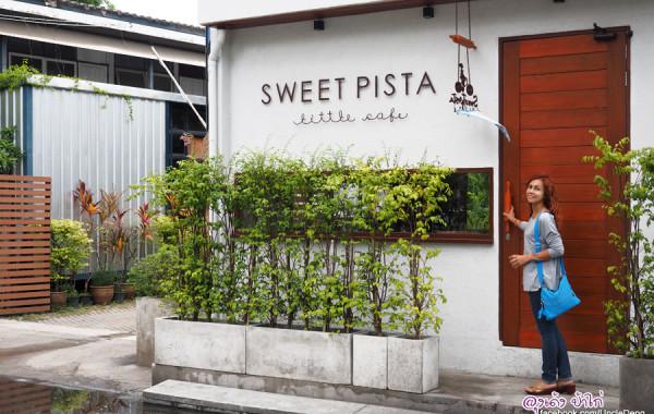 Sweet Pista Little Cafe คาเฟ่ขนมหวาน