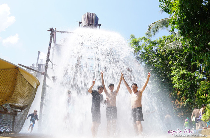 Adventure Cove Waterpark สวนน้ำใน SENTOSA