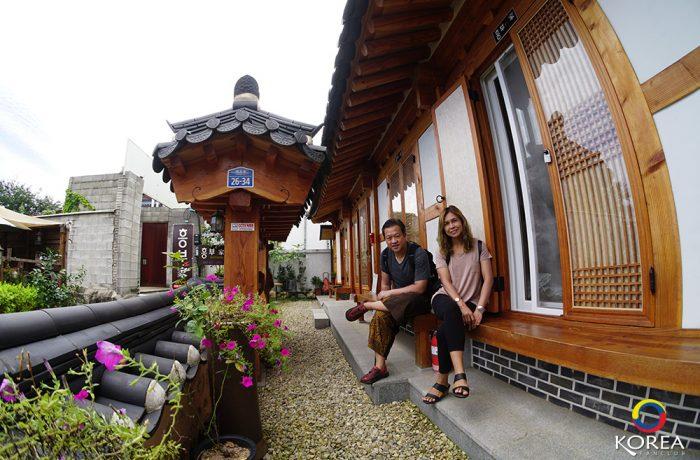 Heungbuga Hanok Guesthouse จอนจู
