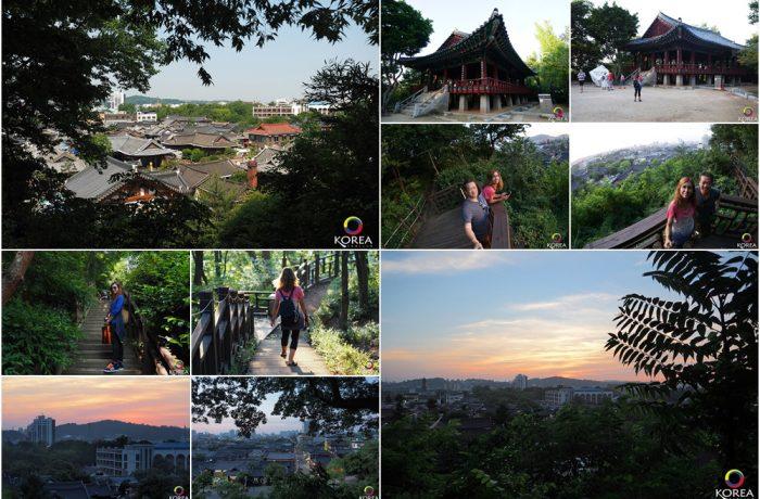 Omokdae & Imokdae (오목대와 이목대) จุดชมวิวเมืองจอนจู