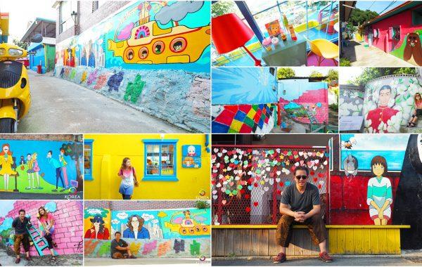 Jaman Mural Village หมู่บ้านหลากสีแห่งเมืองจอนจู