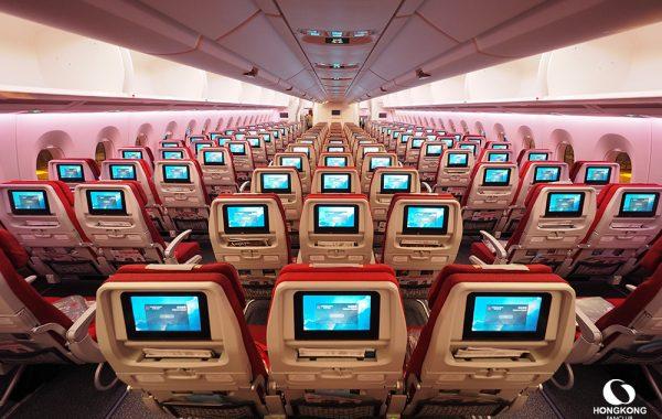 Airbus A350 ลำใหม่ล่าสุด และ Club Autus ของ Hong Kong Airlines