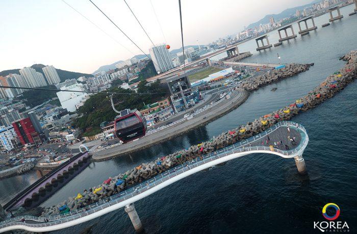 กระเช้า Busan Air Cruise & Songdo Skywalk แห่ง ปูซาน