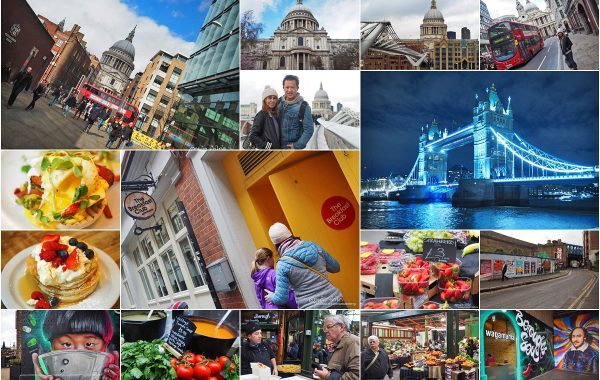 London Day 04 : The Breakfast Club, Borough Market, St Paul's Cathedral, Tower Bridge