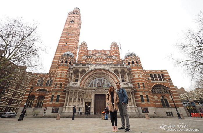 London Day 01  : Heathrow Express Train / The Grosvenor Hotel / Westminster Cathedral