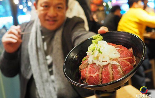 ข้าวเนื้อย่างเกาหลี Hongdae Gaemi ที่ห้ามพลาด