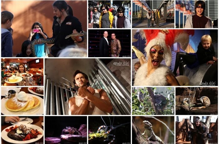 """9 วันในซิดนีย์"" ตอน 2 Market Grill, Wild Life Sydney Zoo, Madame Tussauds, Pancakes on the Rock"