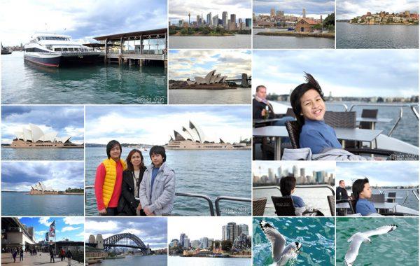 """""""9 วันในซิดนีย์"""" ตอน 4 นั่งเรือ Magistic Cruises ชม Sydney Harbour ออสเตรเลีย"""