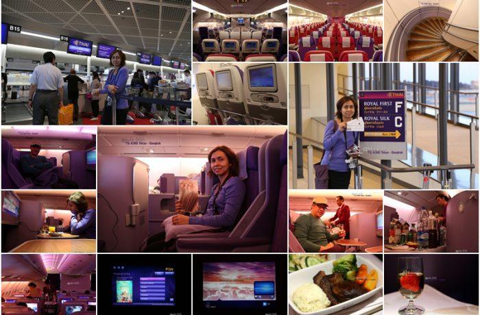 การบินไทย Air Bus A-380 เส้นทาง นาริตะ – กรุงเทพ (Business Class / ANA Lounge / ซื้อของฝาก TAX FREE AKIHABARA)