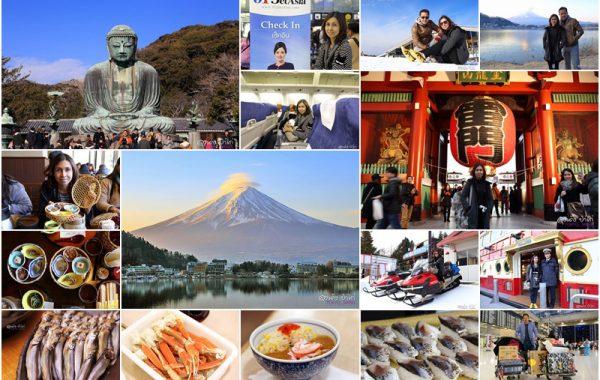 กินๆ เที่ยวๆ ตามโปรแกรม ญี่ปุ่น โตเกียว ฟูจิ คามาคุระ 5 วัน 3 คืน บิน Jet Asia