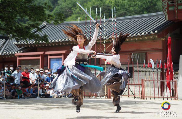 การแสดง 24 Martial Arts Performance เมืองซูวอน (ชมฟรี)