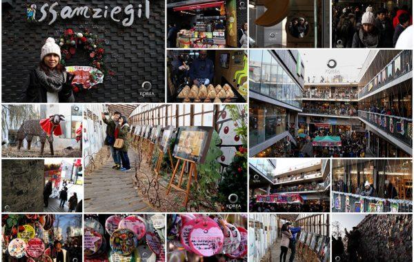ซัมซีกิล (SSamziegil) สถานที่สุดฮิปของวัยรุ่นเกาหลี ย่าน อินซาดง