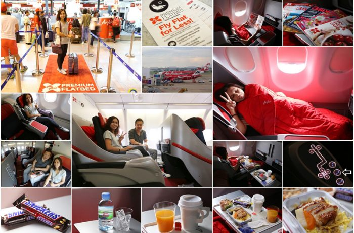 Thai AirAsia X ที่นั่งหรูชั้น Business (FlatBed) และ Quiet ZONE
