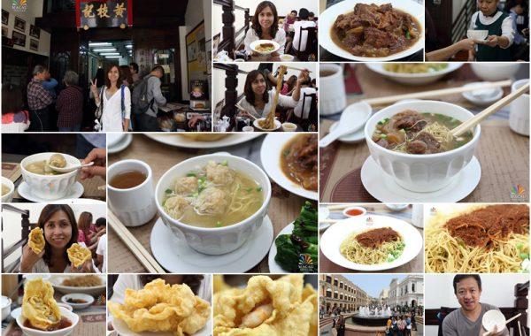 Wong Chi Kei บะหมี่เกี๊ยว เนื้อตุ๋น ระดับตำนานในมาเก๊า AirAsia Exclusive Trip ตะลุยกิน in China