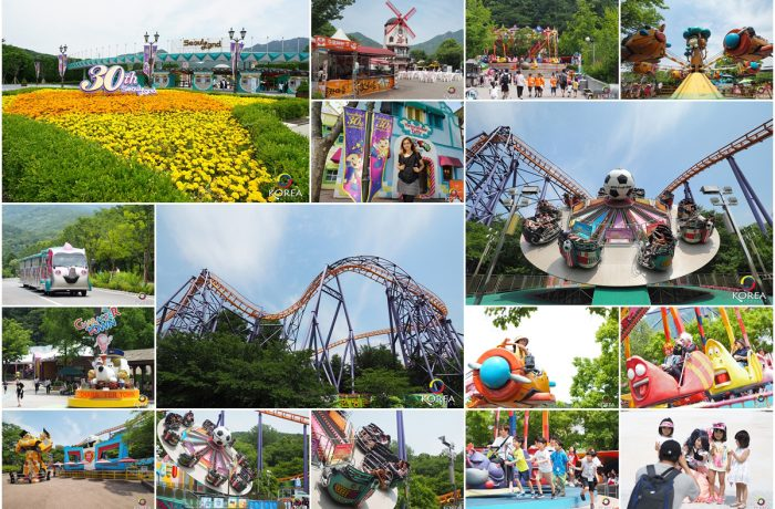 Seoul Land สวนสนุกในฝันของเด็กน้อย