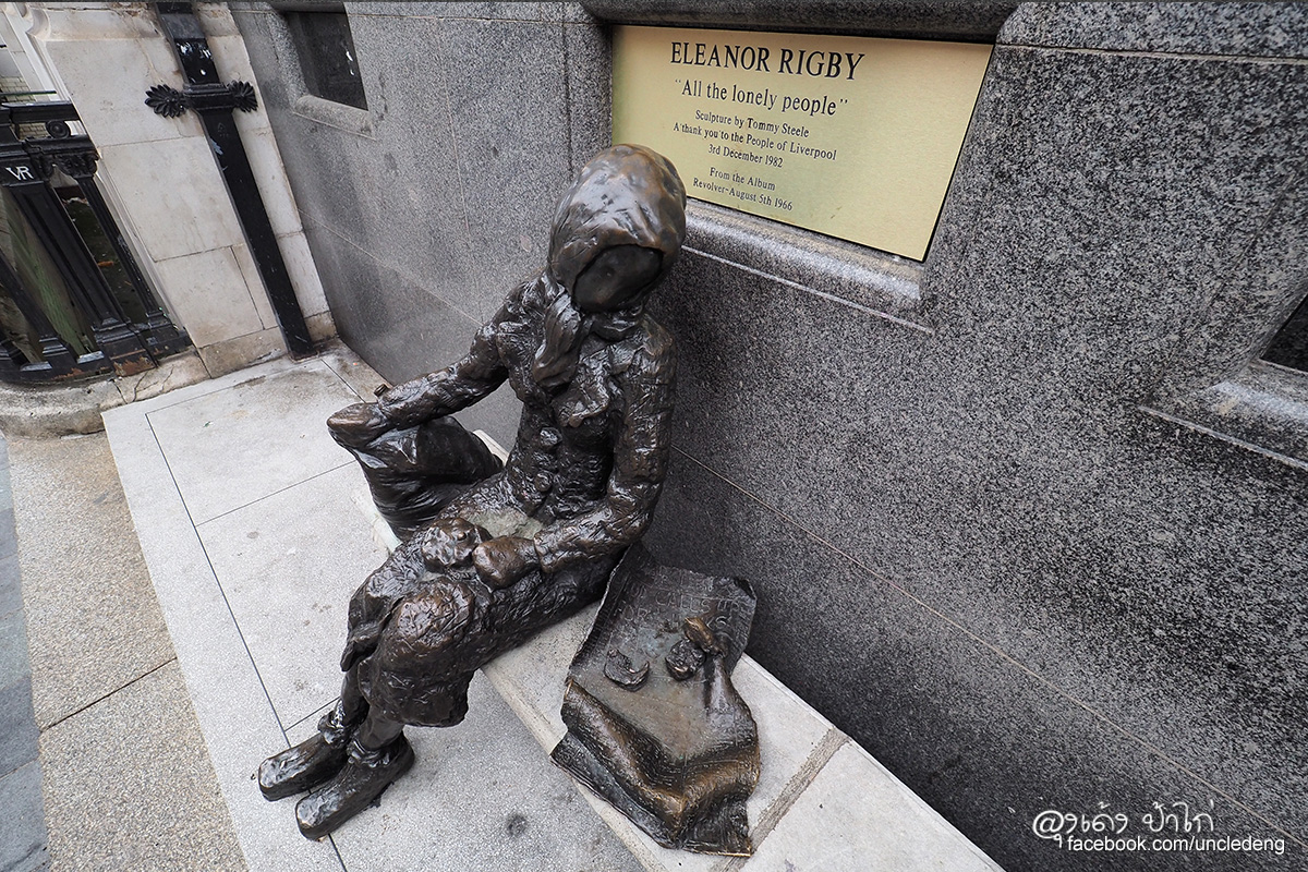 Eleanor Rigby All the lonely people Stanley Street Liverpool