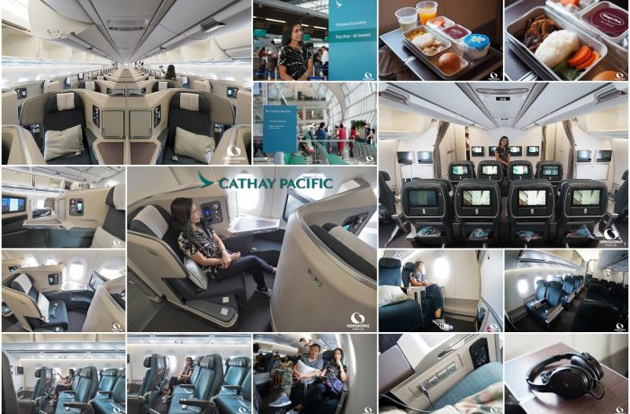 Cathay Pacific Airways has a new AirBus aircraft in their lineup, the AirBus A350-1000!