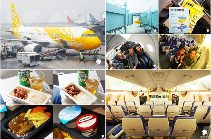 Uncle Deng and Auntie Kai's Journey on Scoot Airlines