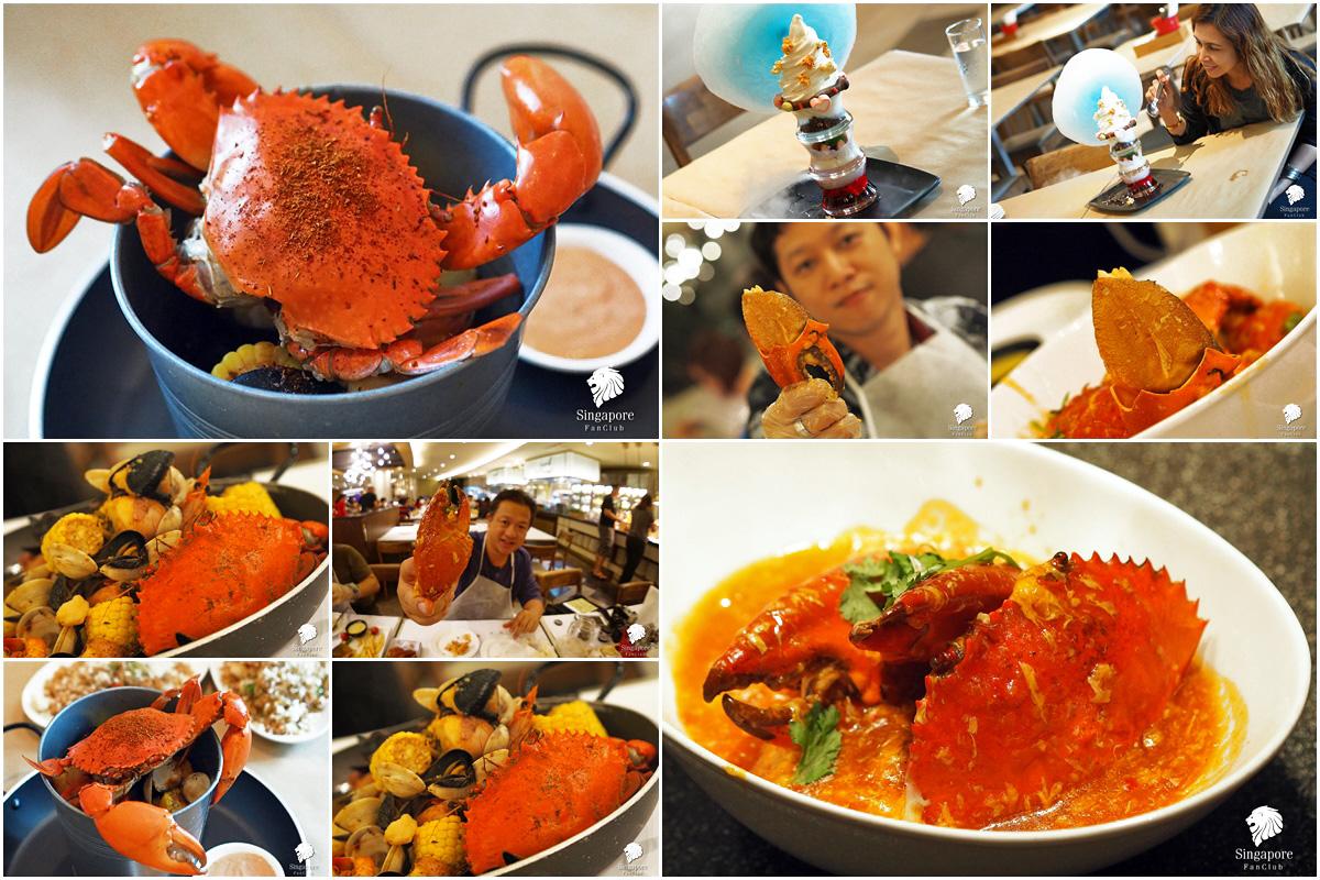 Chili Crab ปูผัดพริก สิงคโปร์
