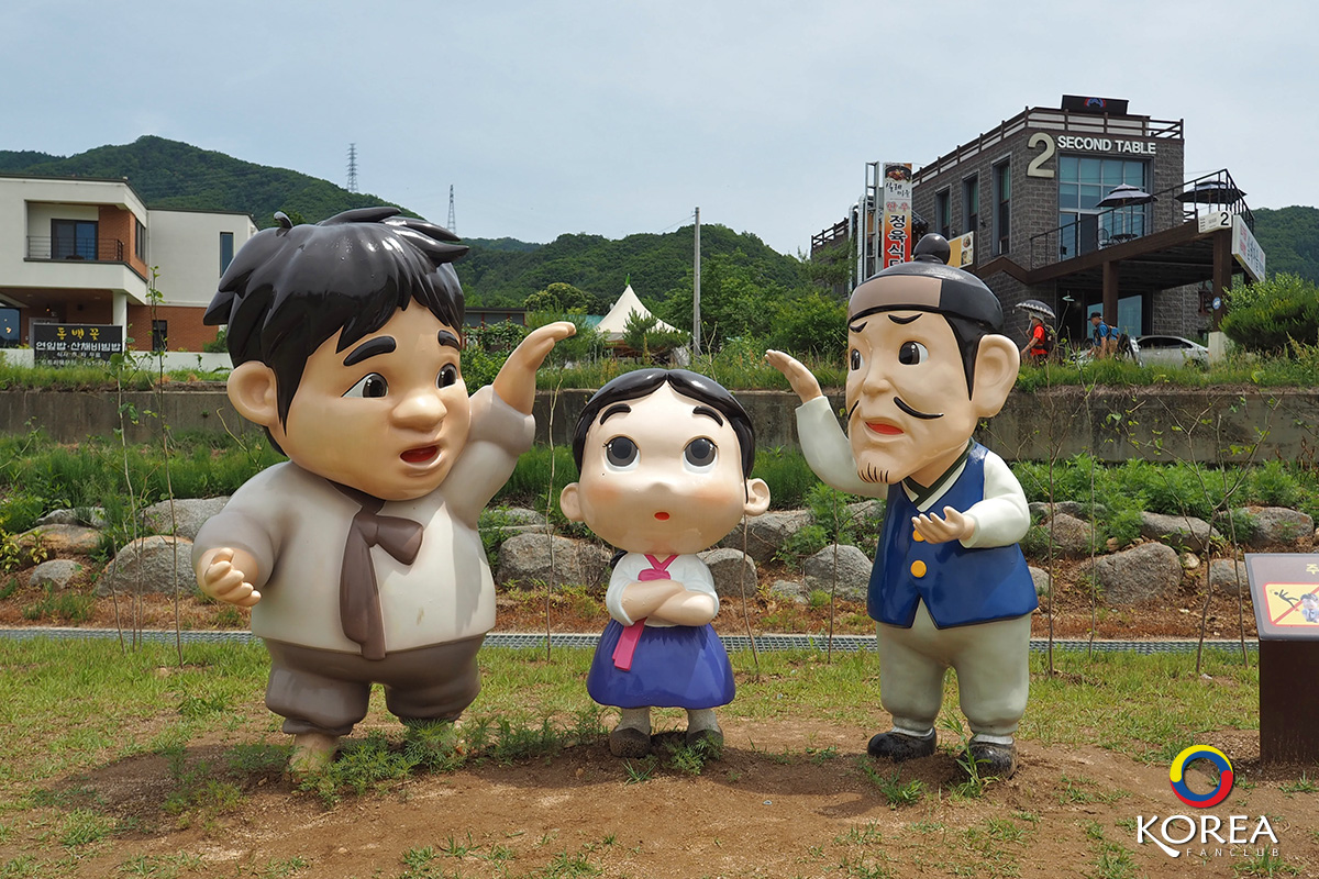 The Literature Village of Kim You-jeong