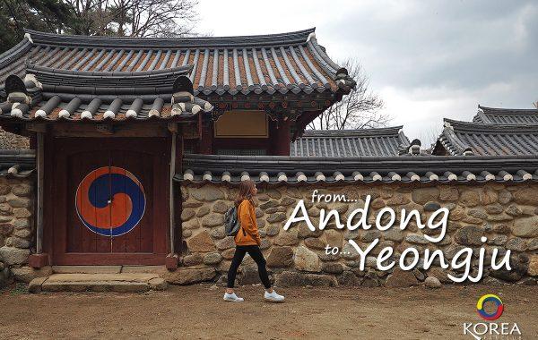 การเดินทาง จาก อันดง สู่ ยองจู