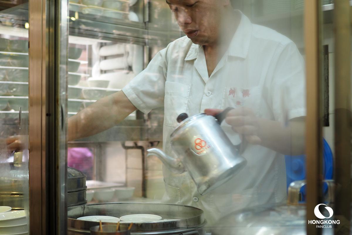 อาหารเช้า ฮ่องกง