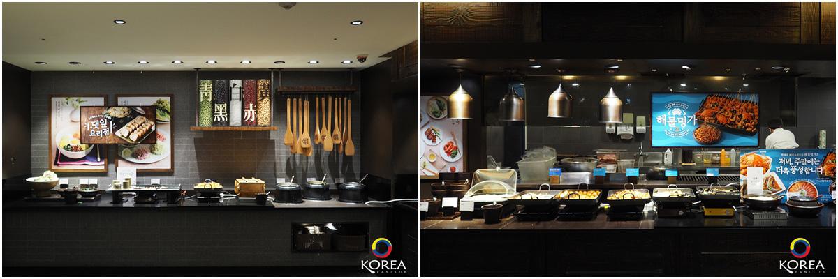 บุฟเฟ่ต์ อาหารพื้นเมืองเกาหลี