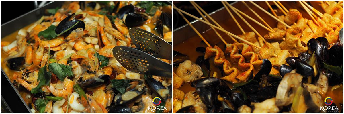 รีวิวบุฟเฟ่ต์ อาหารเกาหลี