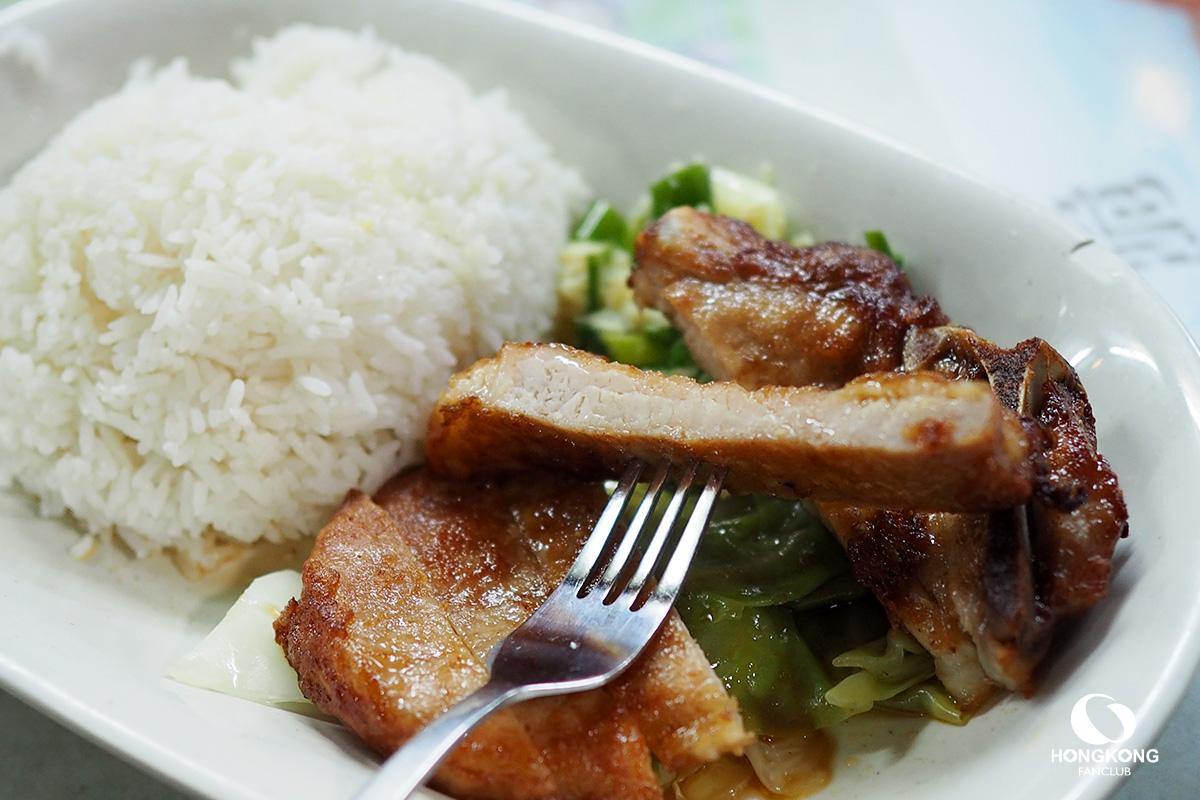 ข้าวหมูทอด ฮ่องกง