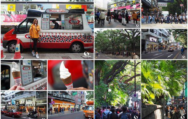 Mobile Softee ถนน Haiphong จิมซาจุ่ย