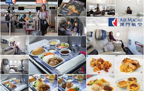 Air Macau บินหรู นั่งสบาย สุวรรณภูมิ – มาเก๊า – กรุงโซล