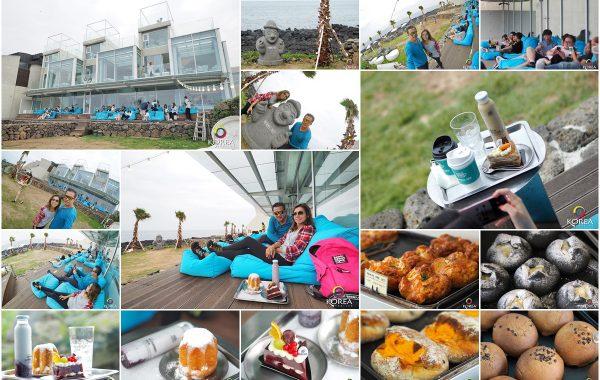 Premium Cafe คาเฟ่ ริมทะเล เกาะเชจู