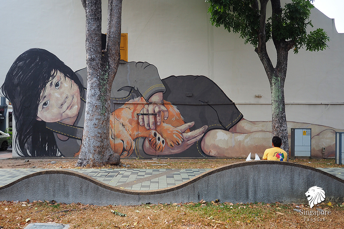 street art singapore อยู่ที่ไหน