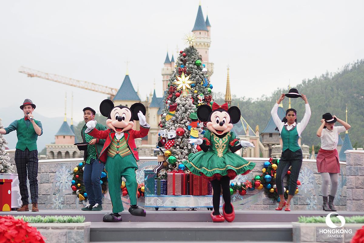 Christmas ฮ่องกง ดิสนีย์แลนด์