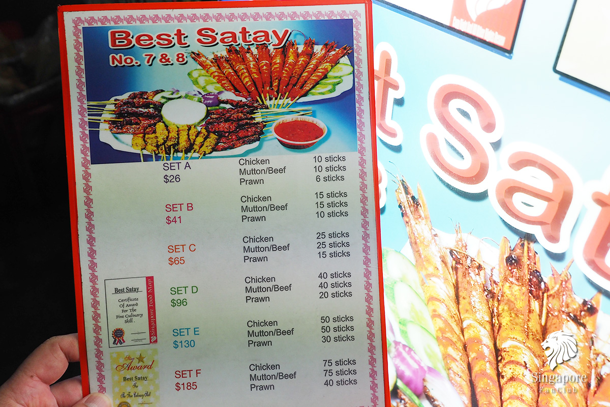 Best Satay No 7 & 8