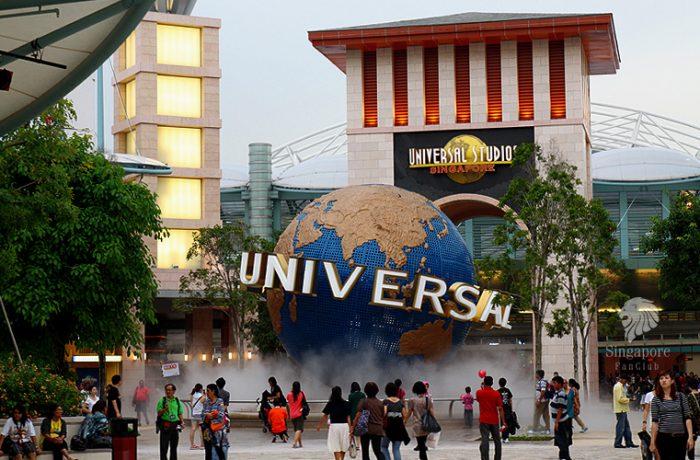 Again @ Universal Studios Singapore