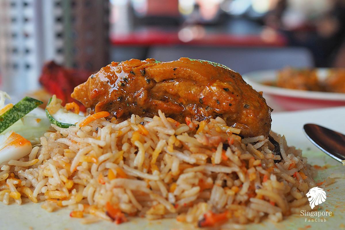 อาหารอินเดีย สิงคโปร์