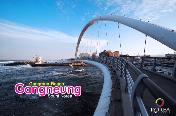 ชายหาด คังมุน : Gangmun Beach เมือง คังนัม