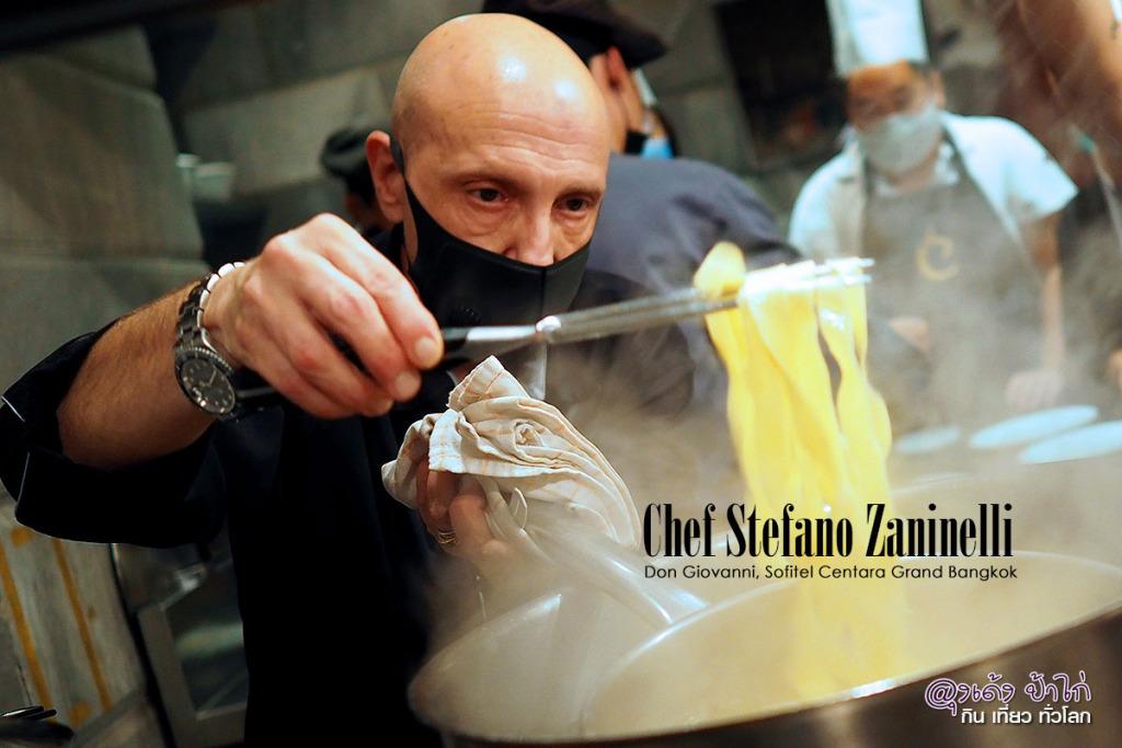 Chef Stefano Zaninelli