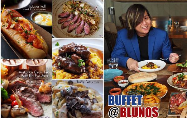 Blunos Bangkok : บุฟเฟ่ต์ A la Carte