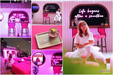 in the pink @ Blunos : คาเฟ่ สีชมพู