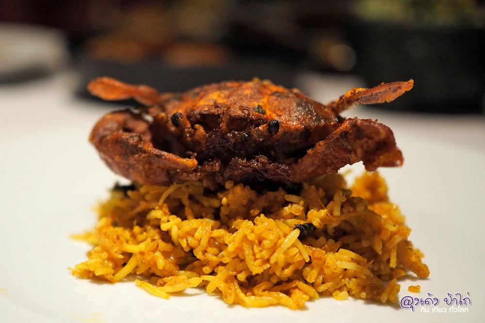 บุฟเฟ่ต์อาหารอินเดีย รางมาฮาล