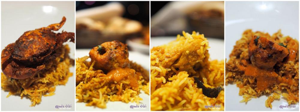 ราง มาฮาล บุฟเฟ่ต์อาหารอินเดีย